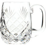 Cut Crystal Half Pint Barrel Tankard