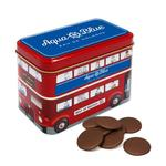 Bus Tin filled with Chocolate Buttons
