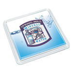 Clear Insert Square Coaster