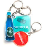 Liquid Filled Keyrings