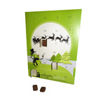 Traditional Milk Chocolate Advent Calendar With Personlised Cover