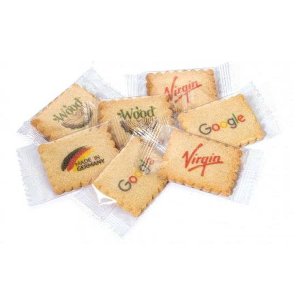 Butter Biscuits with Direct Full Colour Print