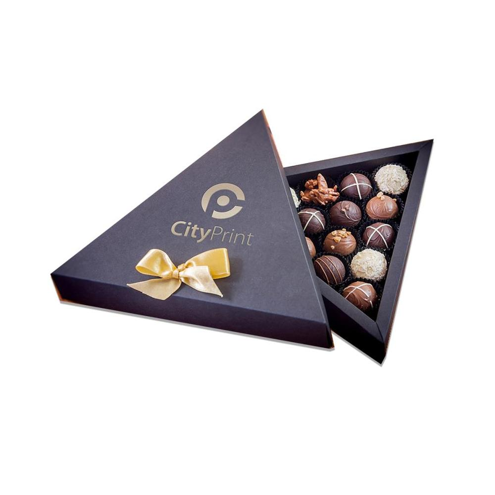 Triangle Praline Chocolate Box