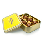 Gold Lily O'brien Chocolate Tin