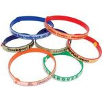 Promotional Plastic Refastenable Wristband
