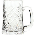 Cut Crystal Pint Straight Tankard