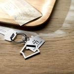 House Keyring Double