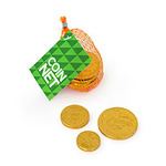 Promotional Net Of Chocolate Coins