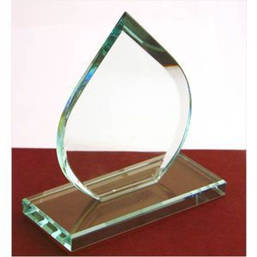 125mm High Budget Jade Green Tear Award