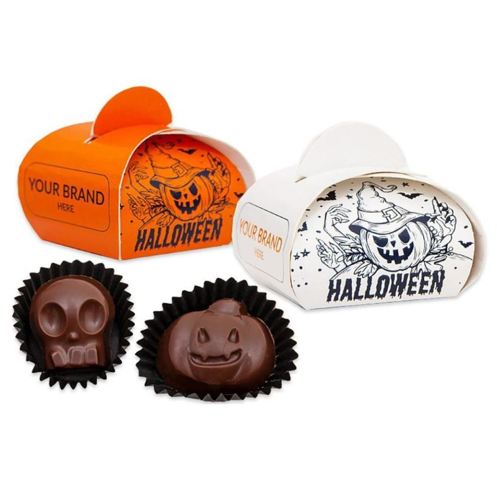 Halloween Chocolates in Coffer Boxes