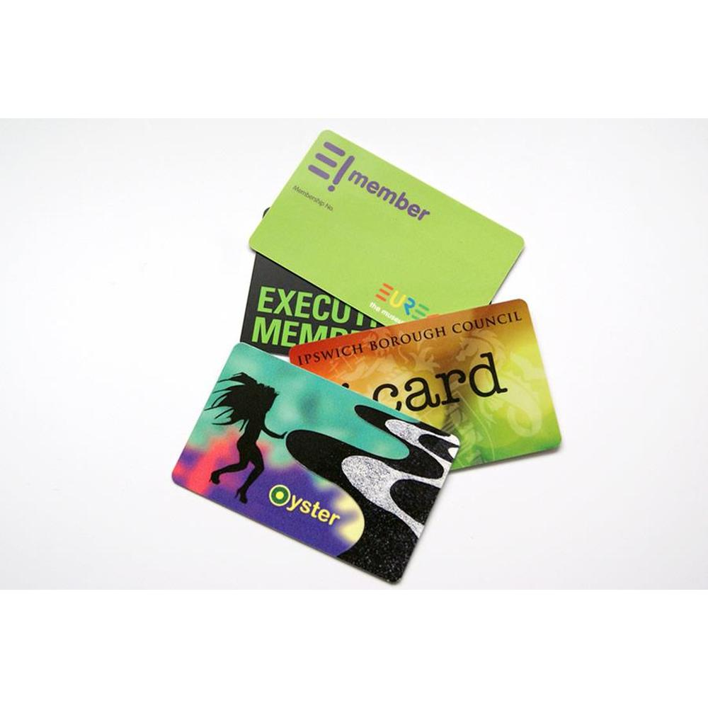 Printed Plastic Cards