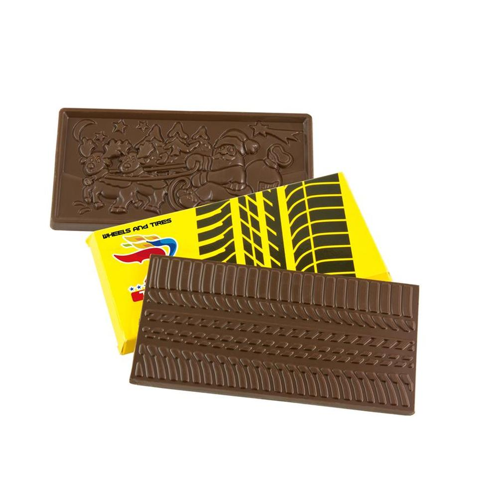 Own Design 100g Embossed Chocolate Bar