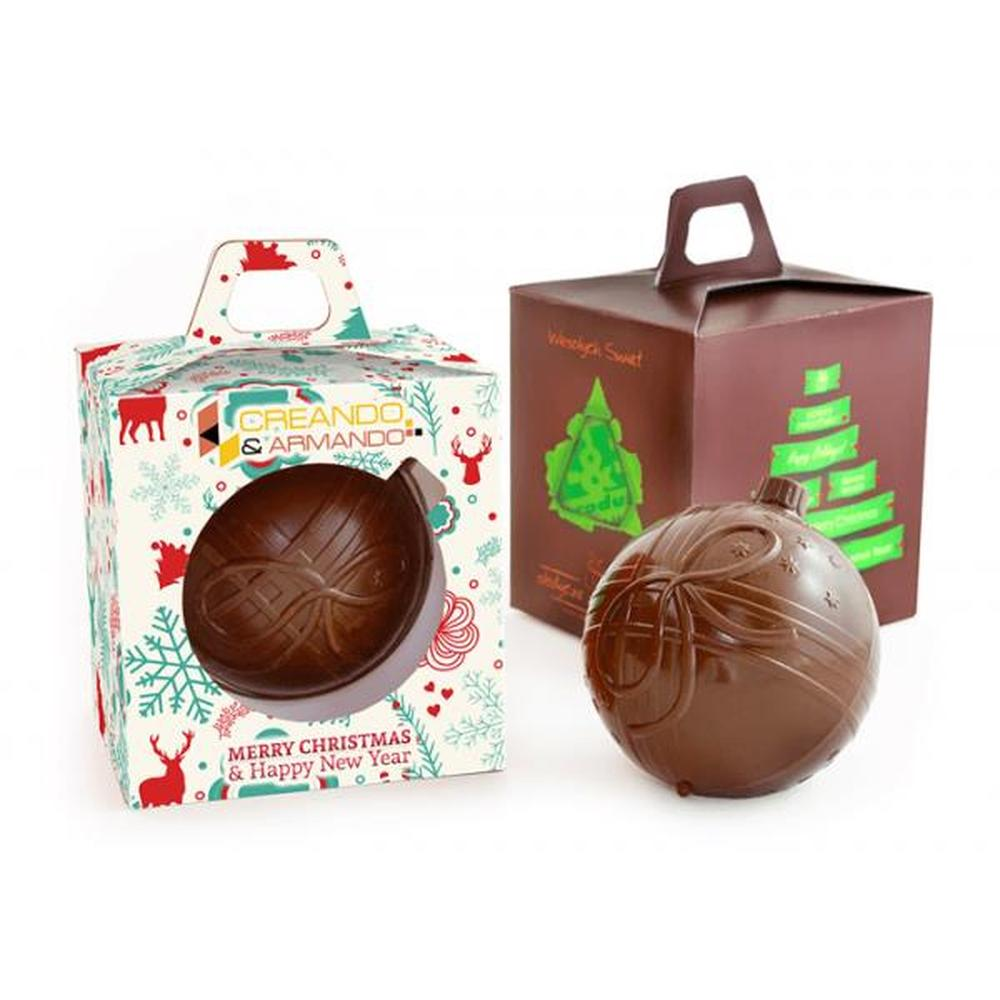 Chocolate Bauble in Box