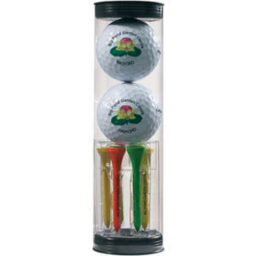 Golf Ball Gift Tube