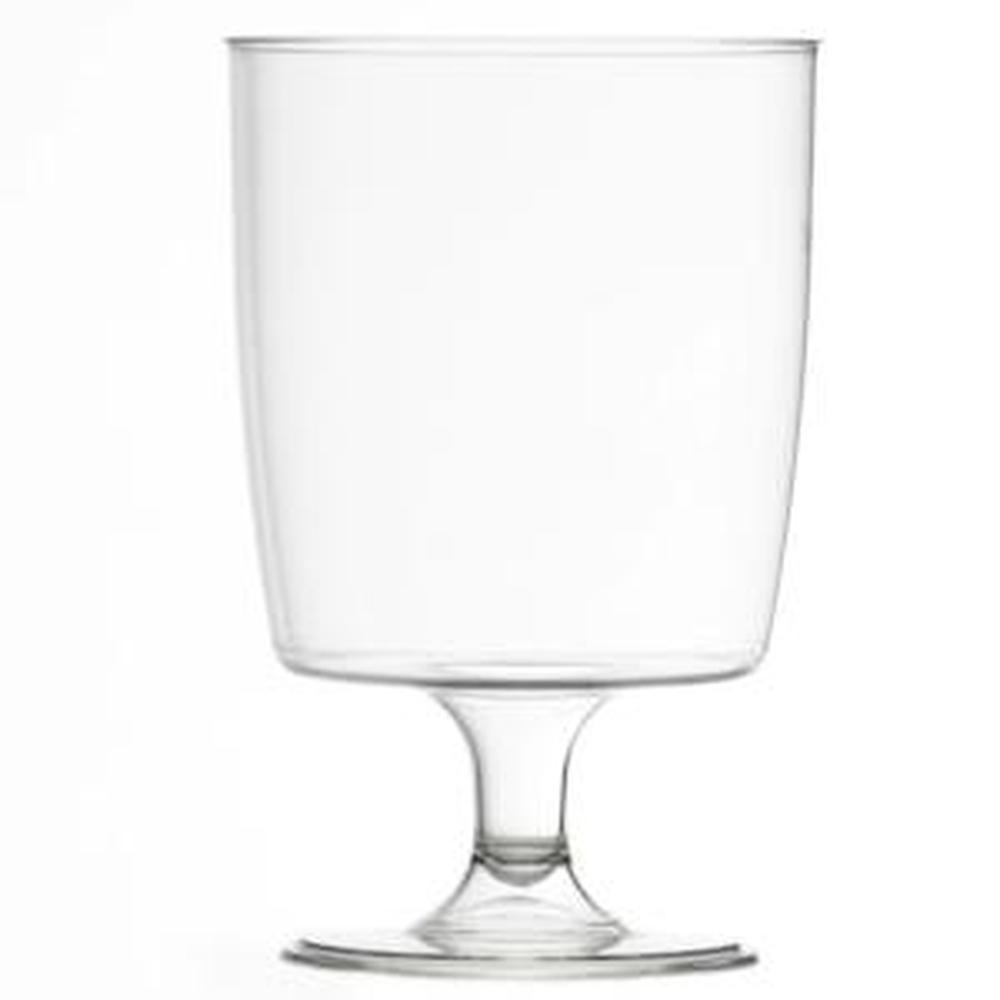 Disposable Plastic 8oz Wine Glass