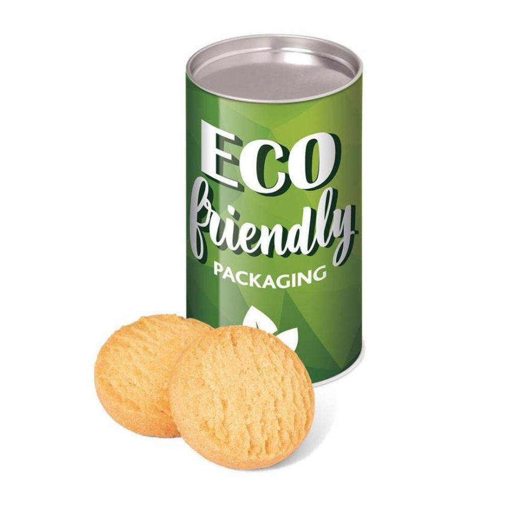 Small Snack Tube with Mini Shortbread Biscuits