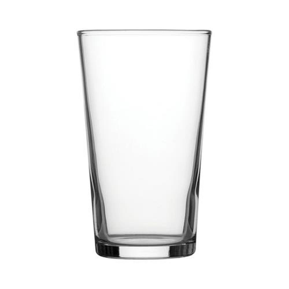 Conical Half Pint Glass