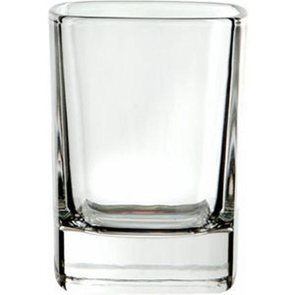 Crystal Square Tot Glass
