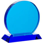 Small Blue Trophy Circle