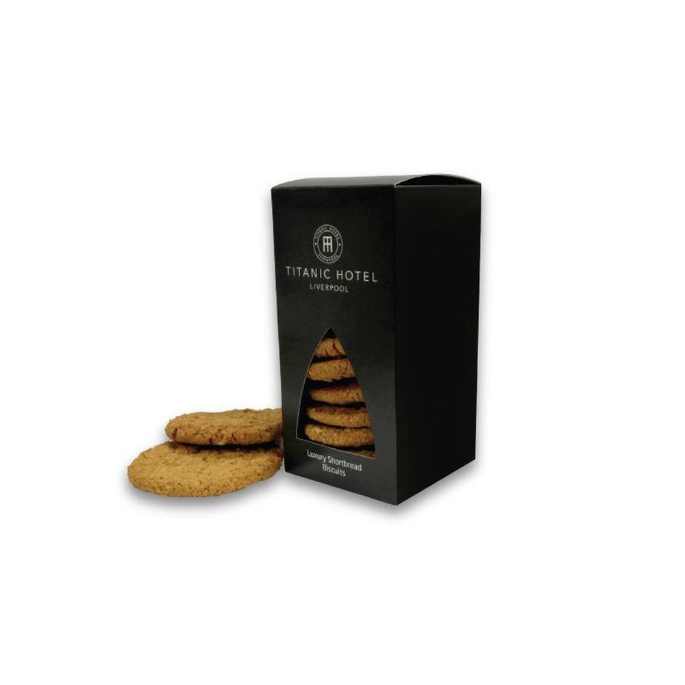 150g Box Of Shortbread Biscuits