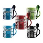 Duraglaze® 11oz Soup & Spoon Two Tone PhotoMug