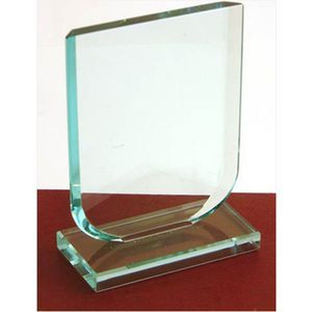 125mm High Budget Jade Green Shield Award