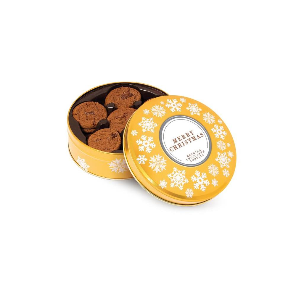 Belgian Chocolate Chip Cookies Share Tin