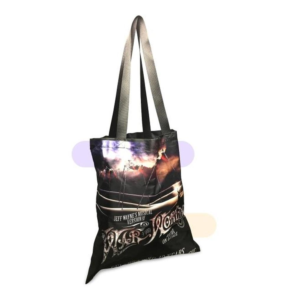 Polyester Full Colour Tote Bag