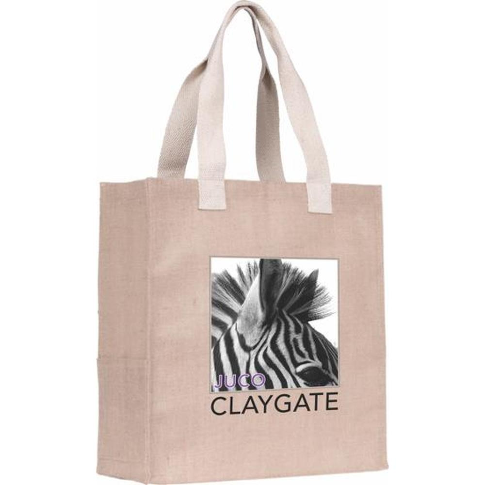 Claygate' Juco Tote Bag