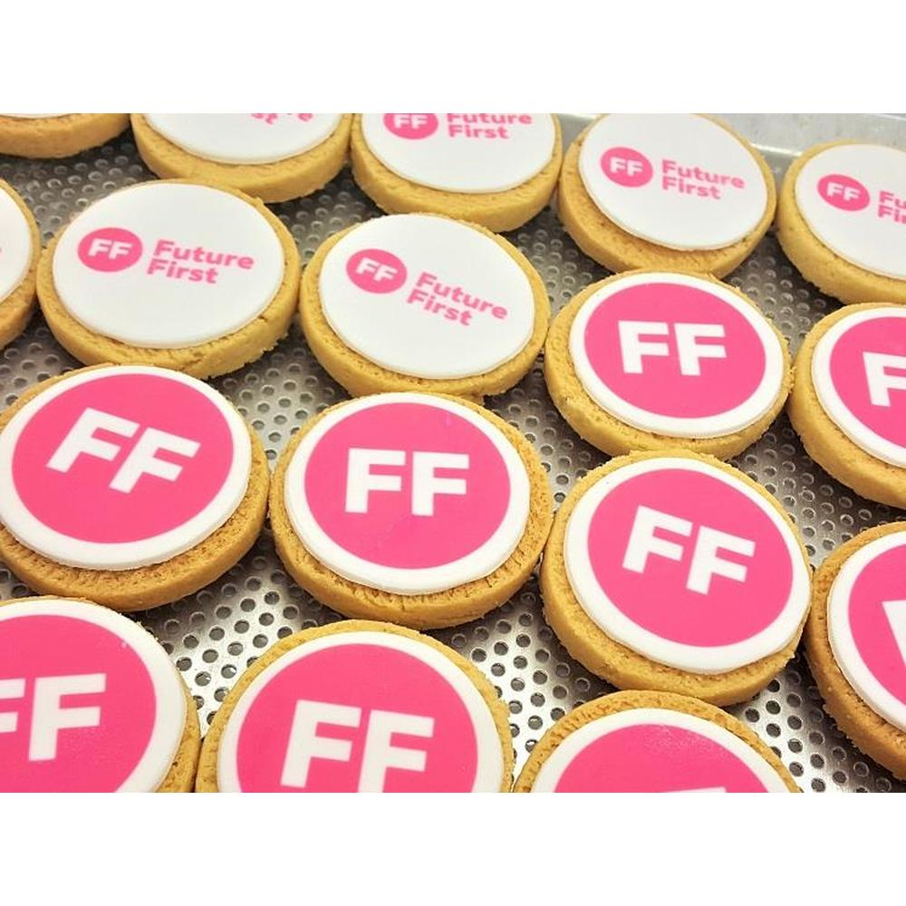 Shortbread Biscuit with Branded Icing 8cm